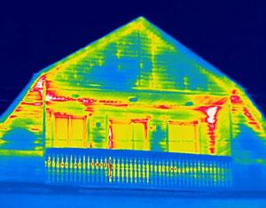 тепловизионное обследование фасада