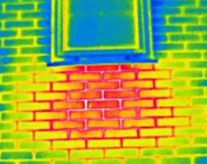 тепловизионное обследование стен